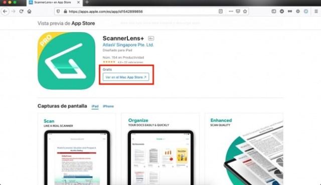App de escaner