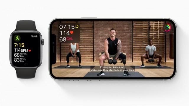 Apple Fitness + accesibilidad