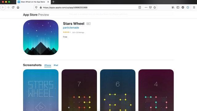 Apps y juegos gratis, Stars Wheel
