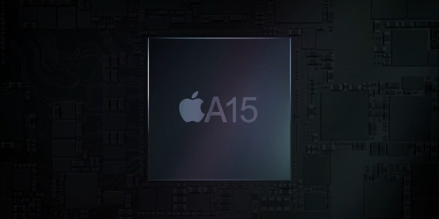 concepto chip A15 Bionic iPhone 13
