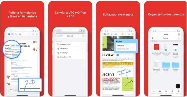 Funciones imprescindibles de iLovePDF iPhone