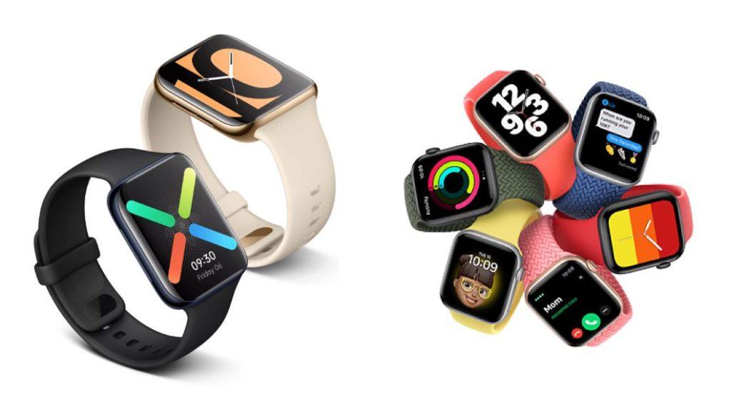 Oppo Watch vs Apple Watch