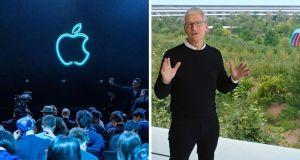 Apple Event presencial o grabado