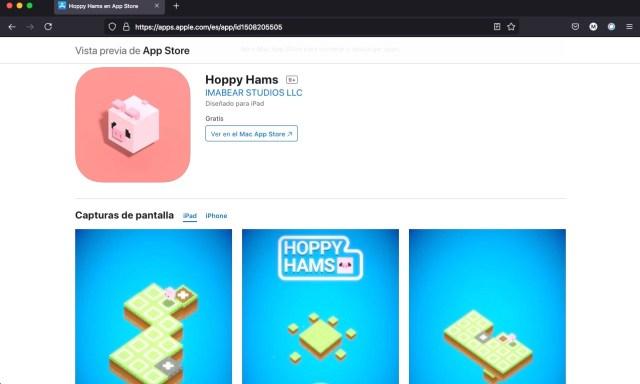 Apps y juegos gratis, Hoppy Hams