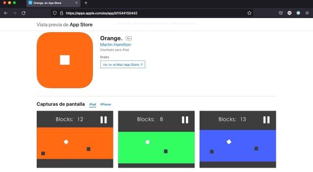 Orange.