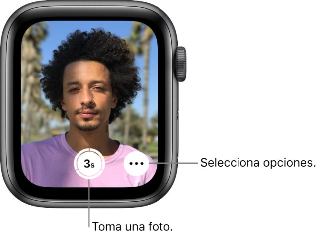 Tomar fotografias Apple Watch