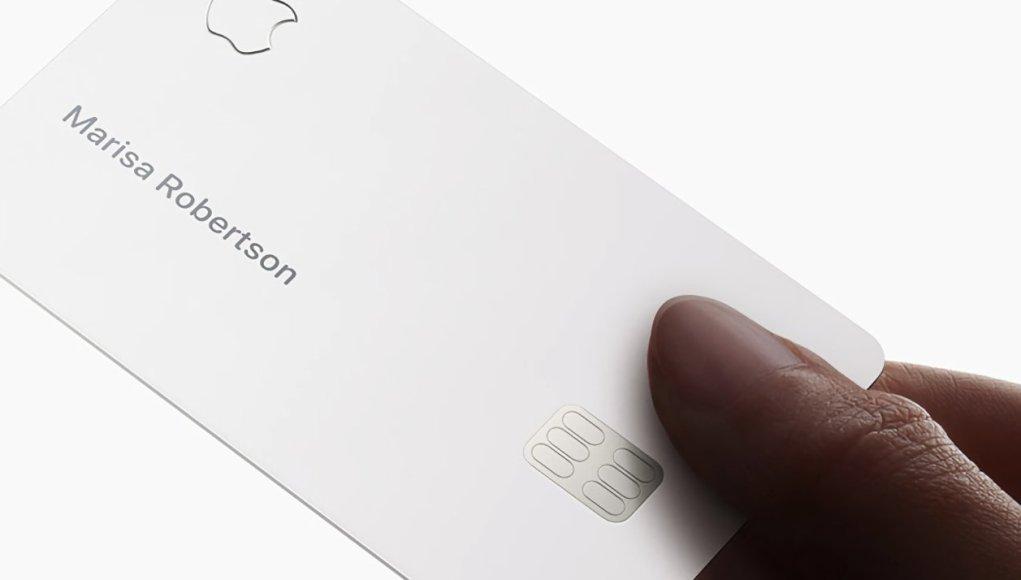 Apple Card destaca entre las tarjetas de crédito