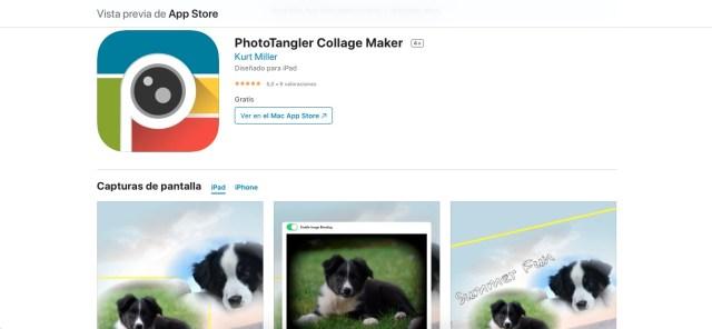 Apps y juegos gratis, PhotoTangler