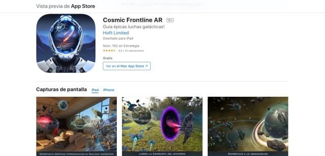 Apps y juegos gratis de realidad aumentada