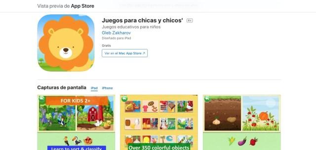 Juegos para niñas y niños