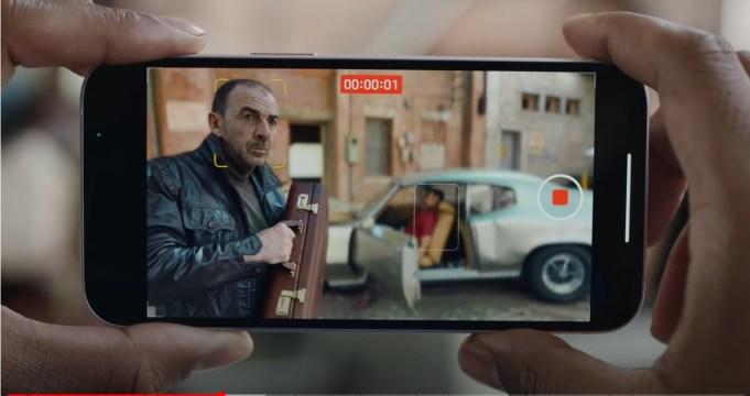 Modo cine iPhone 13