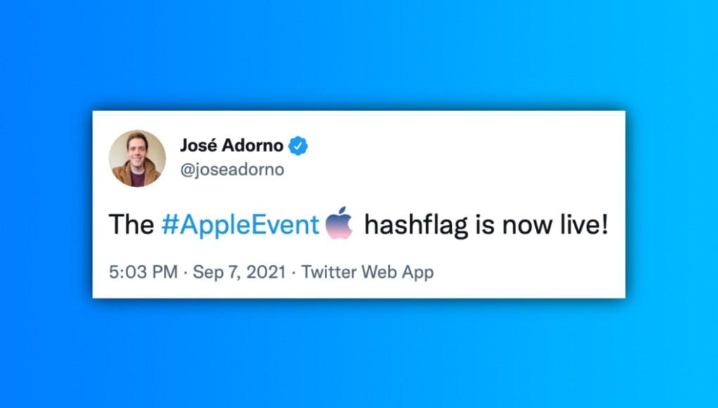 hashflag #AppleEvent