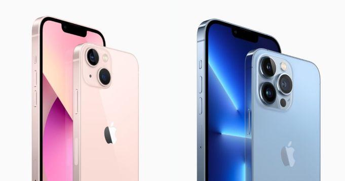 iPhone 13 y iPhone 13 Pro