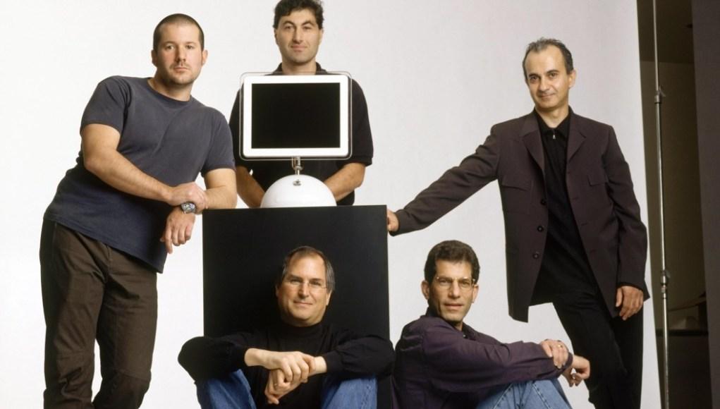 Equipo de Apple y Steve Jobs