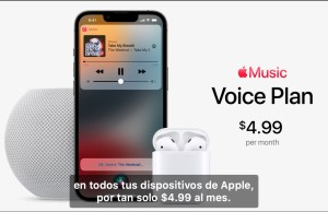 Nuevo plan Apple Music