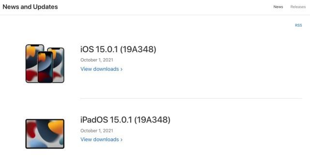 iOS 15.0.1 final