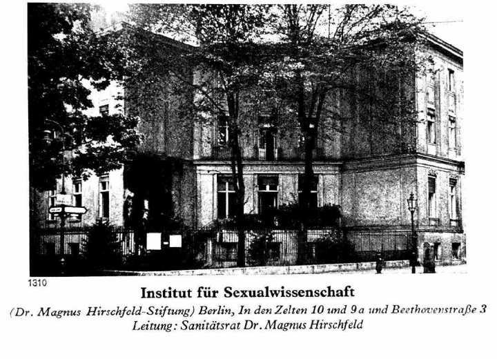 Istituto per la ricerca sessuale di Berlino