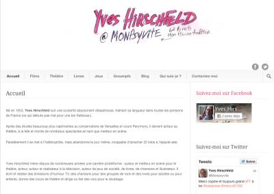 Le site de Yves Hirschfeld