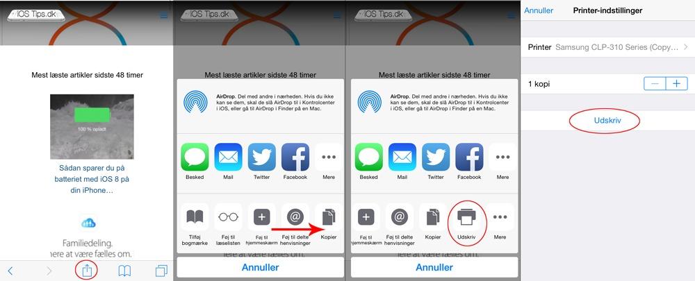 iOS 8 Guide: Sådan udskriver du fra din iPhone eller iPad