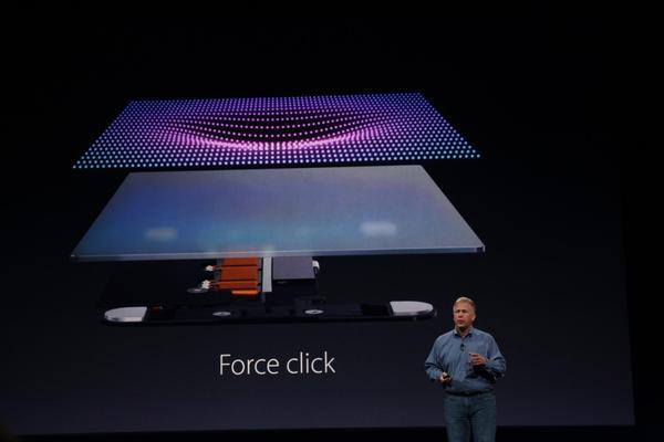 Force Touch gør at din iPhone kan mærke hvor hårdt du trykker på skærmen