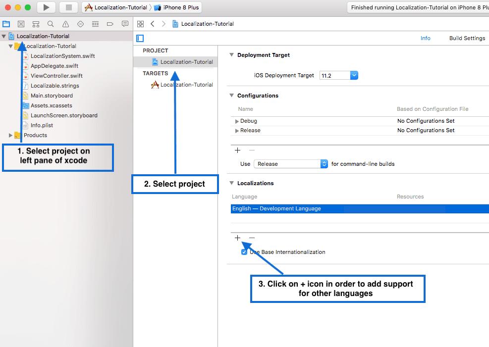 iOS App Localization: Change app language and app design