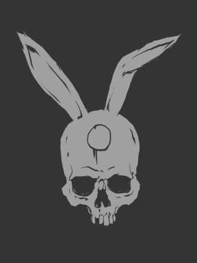 Chillfish Design, artist edition, iosua, skull, bunny ears,