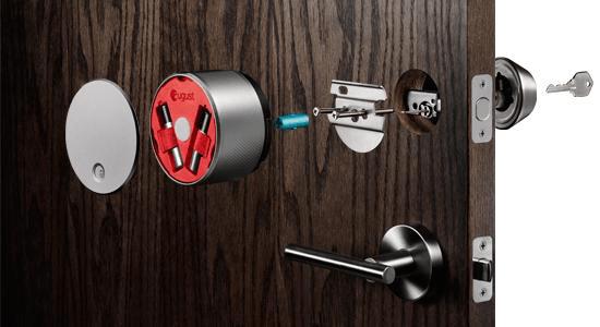 August SmartLock Install
