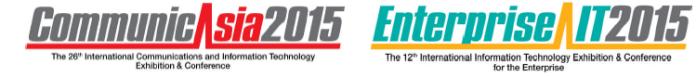 CommunicAsia 2015