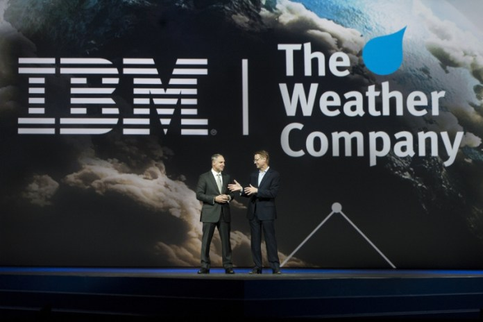 IBM Bob Picciano The Weather Company David Kenny