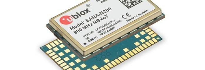 uBlox IoT module