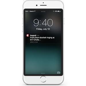 August Doorbell Instant Alerts