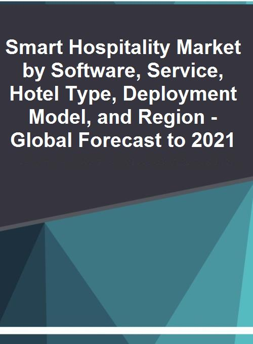 $18 11 Billion Smart Hospitality Market 2016-2021 - IoT