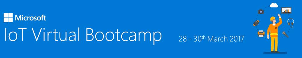 IoT Virtual Bootcamp