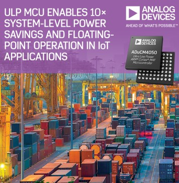 Analog Devices MCU Power Savings