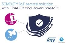 ST and Prove & Run IoT Security Platform