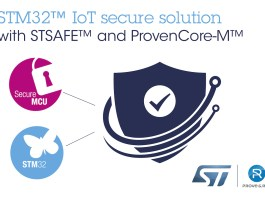 ST and Prove & Run IoT Security Platform