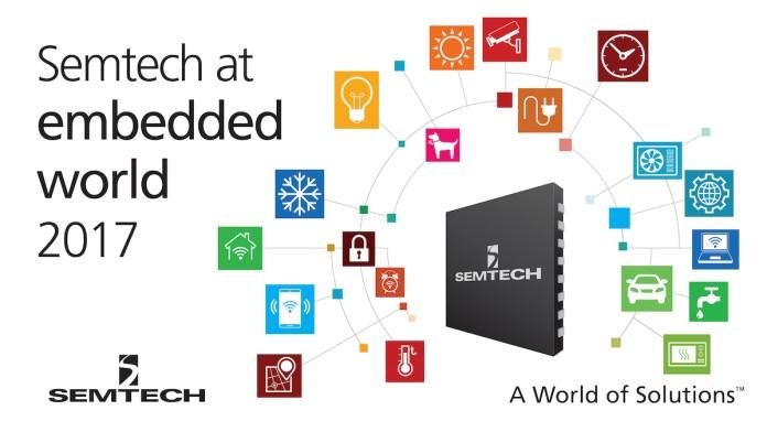 Semtech embedded world 2017