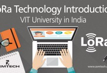 VIT India Semtech LoRa