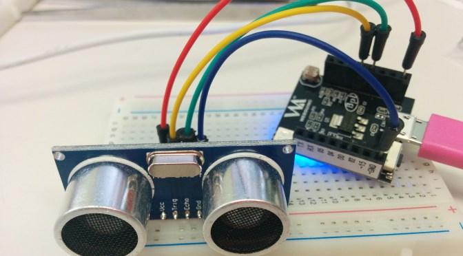 Webduino (6) Smart+Ultrasonic