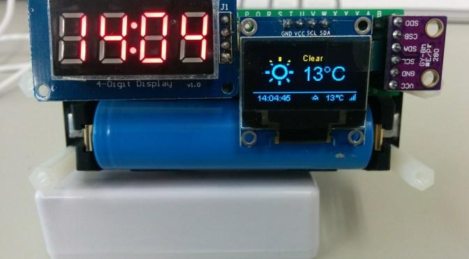 ESP-WROOM-02 (2) Weather Station