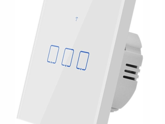 SONOFF T0 EU AC 100-240V 3 Gang TX Series WIFI Wall Switch Smart Wall Touch Light Switch For Smart Home Work With Alexa Google Home - EU 3Gang