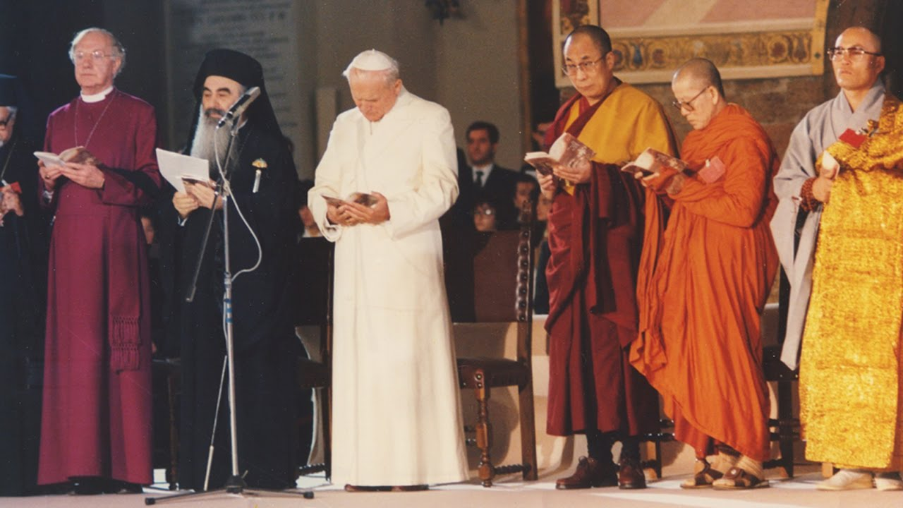 Resultado de imagen de ecumenismo de juan pablo ii