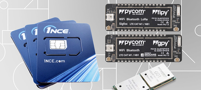 IoT partners Pycom and 1NCE cut costs of full-stack IoT with an all-in offering starting at 1 Euro