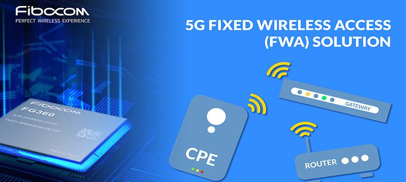 Fibocom 5G modules for FWA