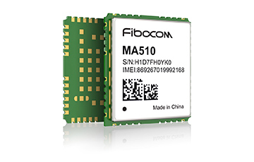 Fibocom's MA510 Module to Support 450 MHz LTE-M and NB-IoT Application