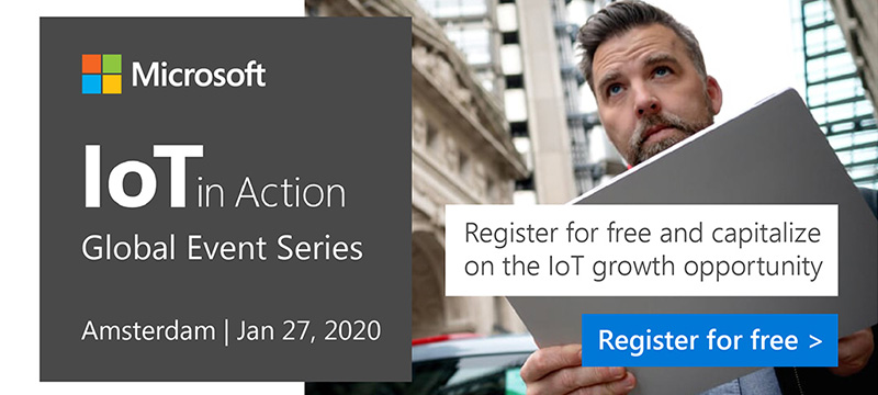 Register for IoT in Action Amsterdam