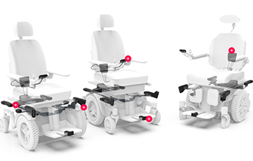 LUCI Smart Wheelchair Connected with Sierra Wireless LPWA Solution Recognized by Time Magazine and Popular Science