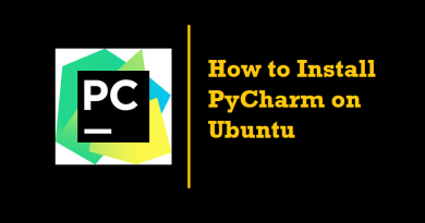 How to Install PyCharm on Ubuntu