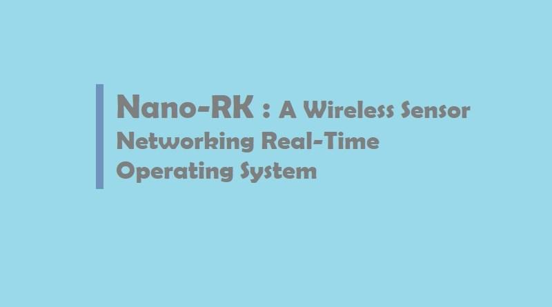 nano rk