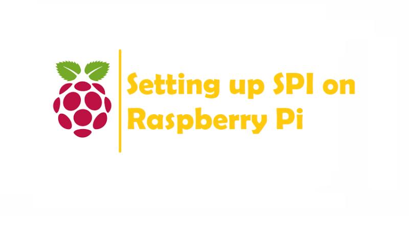 Setting up SPI on Raspberry Pi